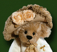 Pandora 2000 Golden Teddy and TOBY Winner - For Ashton-Drake Galleries