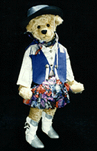Achy-Breaky Bear - 1993 Second Place, Best Character Bear Baltimore's Best Teddy Bear Show