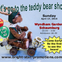 Schaumburg Teddy Bear Show Apr 17