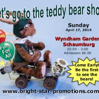 Schaumburg Teddy Bear Show Apr 17