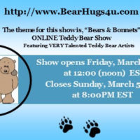 """Bears and Bonnets"" Online Teddy Bear Show"