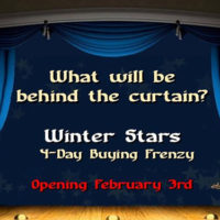 The Winter Stars Online Show in 5 Days!