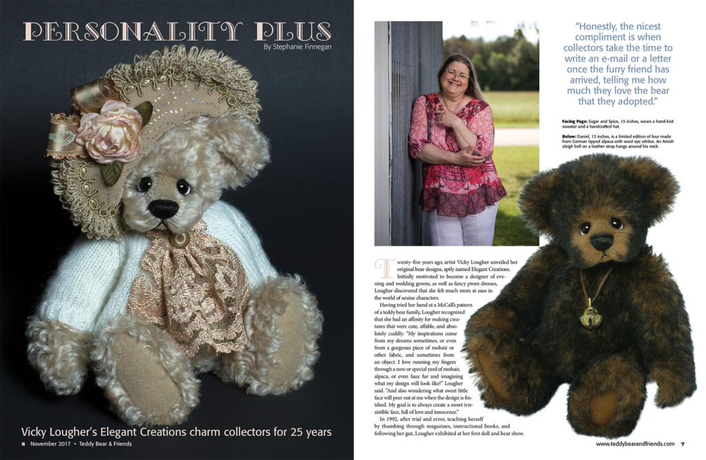 Teddy Bear and Friends November 2017 Feature Article page 1