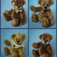 I added a few bears to my Etsy Shop Today
