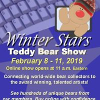 Winter Stars Online Teddy Bear Show 2/8/2019